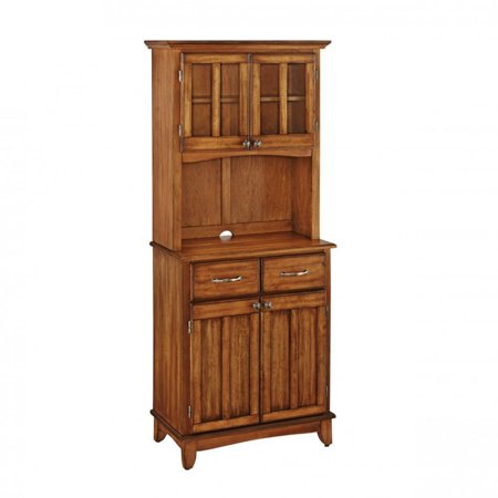 - Buffet of Buffet with Wood Top and Hutch