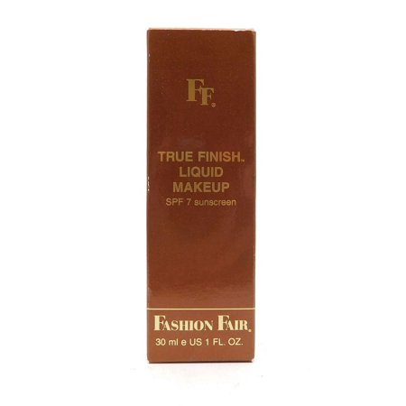 Bronze Beauty Makeup (Fashion Fair True Finish Liquid Makeup Bare Bronze 1Fl.Oz )
