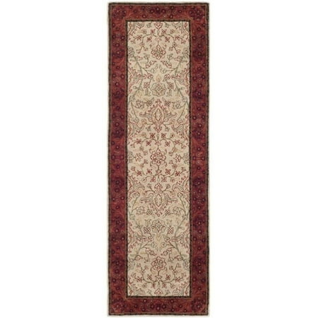 Safavieh Persian Legend Runner Rug in Ivory / Rust