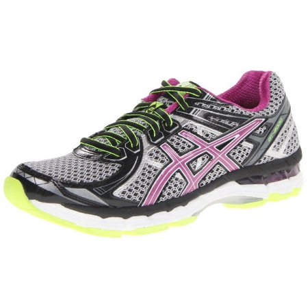 ASICS Women's GT 2000 2 Running Shoe,BlackOrchidFlash Yellow,8 D US