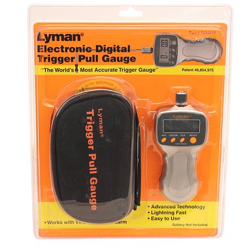 Lyman Electr Digital Trigger Pull Gauge SKU: 7832248 with Elite Tactical Cloth by Lyman