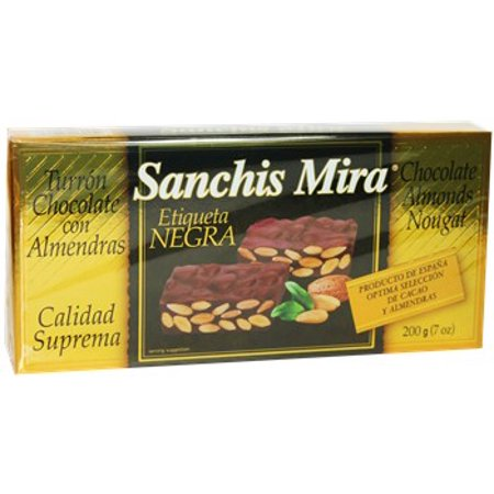 Turron Chocolate with Almonds. 7 oz. Imported from Spain. ()