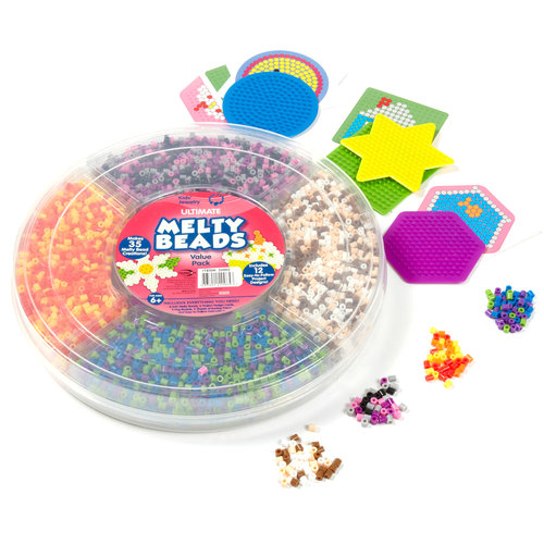 Kids Craft Melty Beads Ultimate Craft Kit by Horizon Group USA