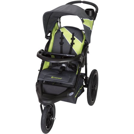 Baby Trend XCEL-R8 Jogging Stroller, - Hands Free Jogging Stroller Adapter