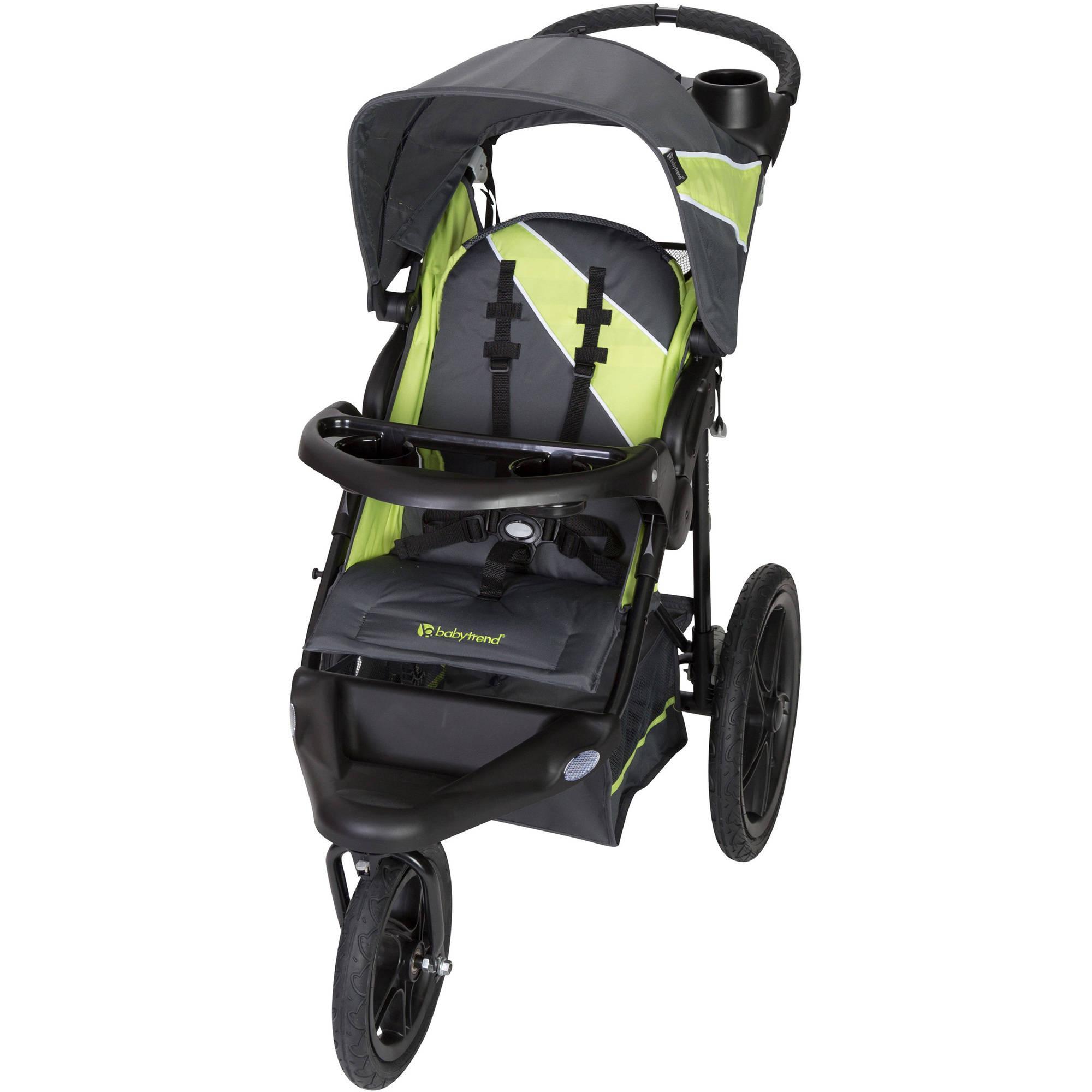 Baby Trend XCEL-R8 Jogging Stroller, Circuit