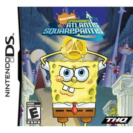 Spongebob Squarepants: Atlantis Squarepantis - Nintendo DS ()