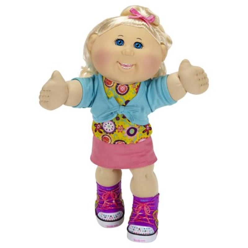 Cabbage Patch Kids Twinkle Toes: Caucasian Girl Doll, Blonde, Blue Eyes by