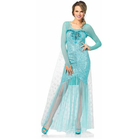 Leg Avenue Fantasy Snow Queen Adult Halloween Costume](Snow Queen Costume Adults)