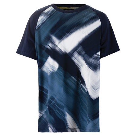 4bbfe8ade FILA - Boys` Hurricane Printed Tennis Crew Navy and White - Walmart.com