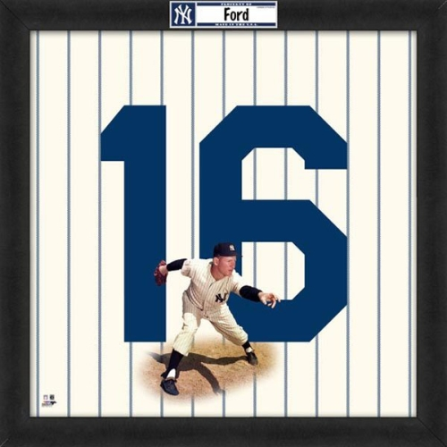 Whitey Ford New York Yankees Uniframe by Photo File - No Size