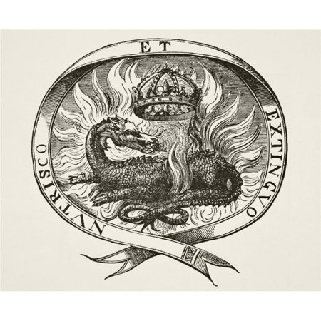 Design Pics DPI1862865 16 x 13 in. Device of Francois I King of France Poster Print ()