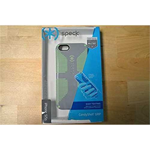 Refurbished Speck CandyShell Grip Case for iPhone 5 - Nickel/Sweet Mint