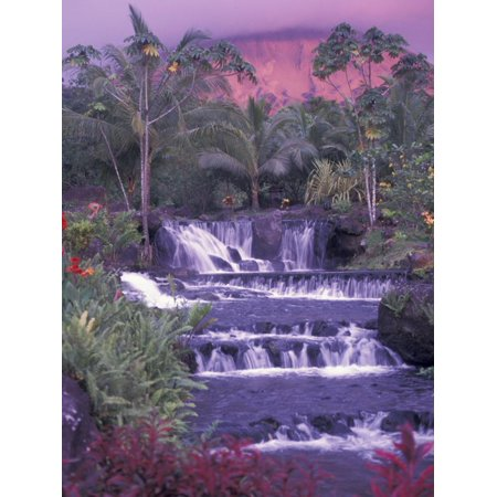 Tabacon Hot Springs, Arenal Volcano, Costa Rica Print Wall Art By Nik Wheeler