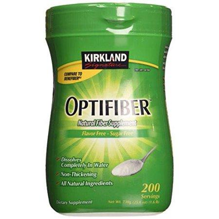 Kirkland Signature Optifiber 200 Servings   25 6Oz Natural Fiber Supplement