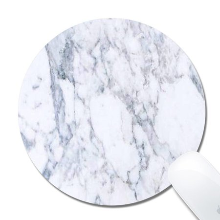Mouse Pattern - POPCreation White Marble Pattern Mouse pads Gaming Mouse Pad 9.84x7.87 inches