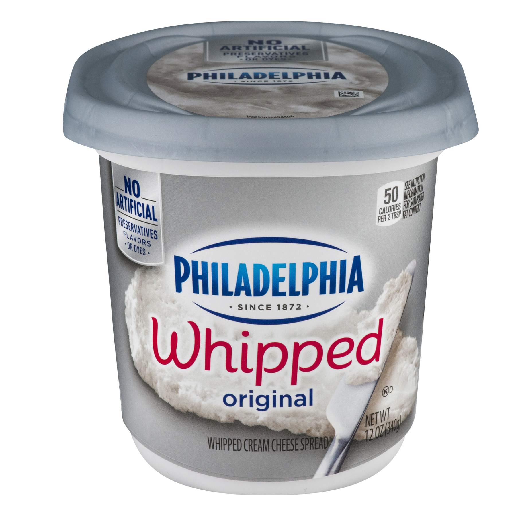 Philadelphia Whipped Original Cream Cheese Spread, 12.0 OZ