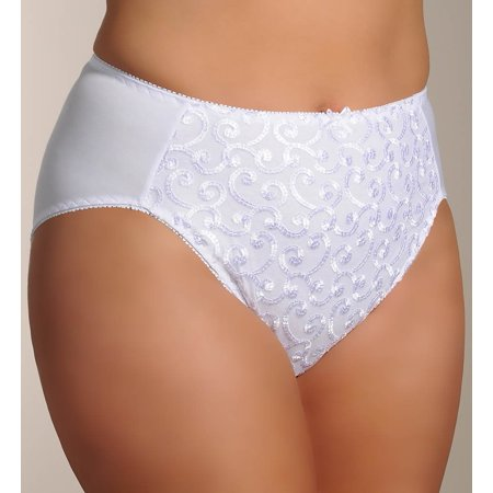 580b2aa2f0b19 Valmont - Valmont 1803 Embroidered Brief Panty - Walmart.com