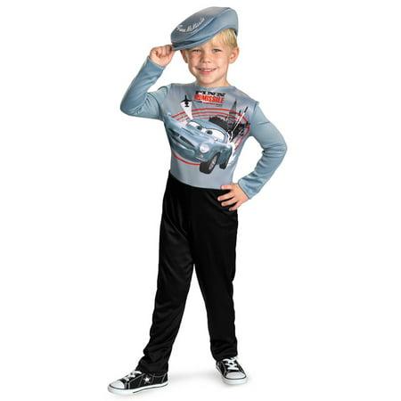 Baby Car Freshener Halloween Costume (Disney Cars 2 Finn McMissile Basic Toddler/Child)
