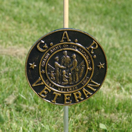 Grand Army of the Republic Grave Marker (Army Stepping Stone)