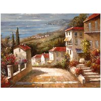 """Trademark Fine Art """"Home in Tuscany"""" Canvas Art by Joval"""