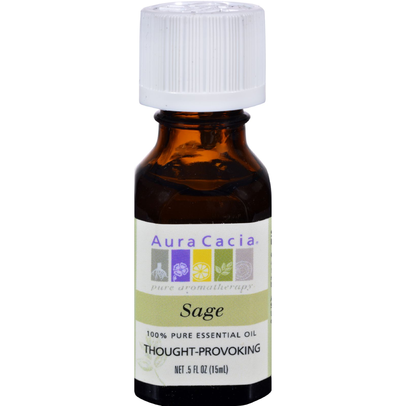 Frontier Natural Products Aura Cacia  Essential Oil, 0.5 oz