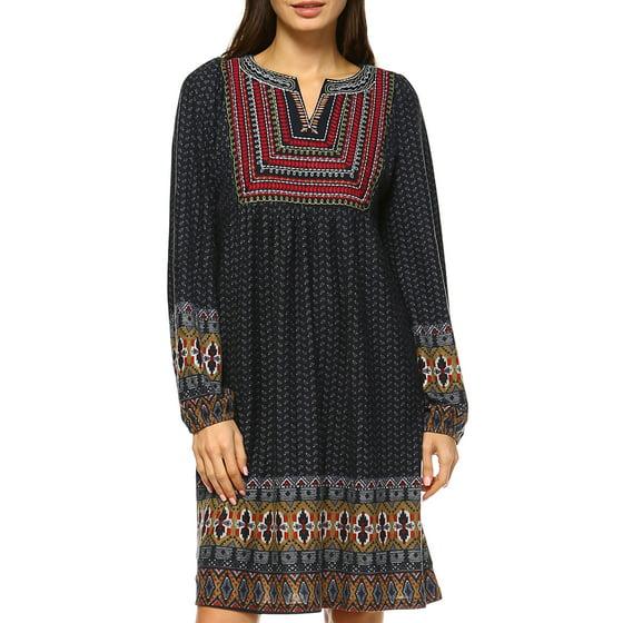 779d16f09b9 White Mark - Women s Atarah Embroidered Sweater Dress - Walmart.com