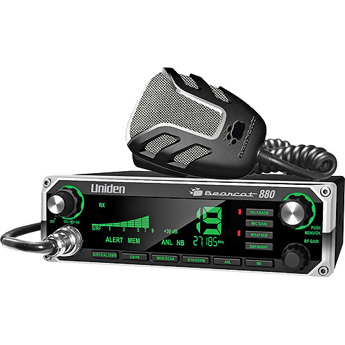 Uniden BEARCAT 880 40-Channel CB Radio with Noise-Canceling Microphone