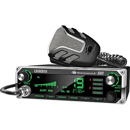 Uniden BEARCAT 880 40-Channel CB Radio with Noise-Canceling Microphone by Uniden