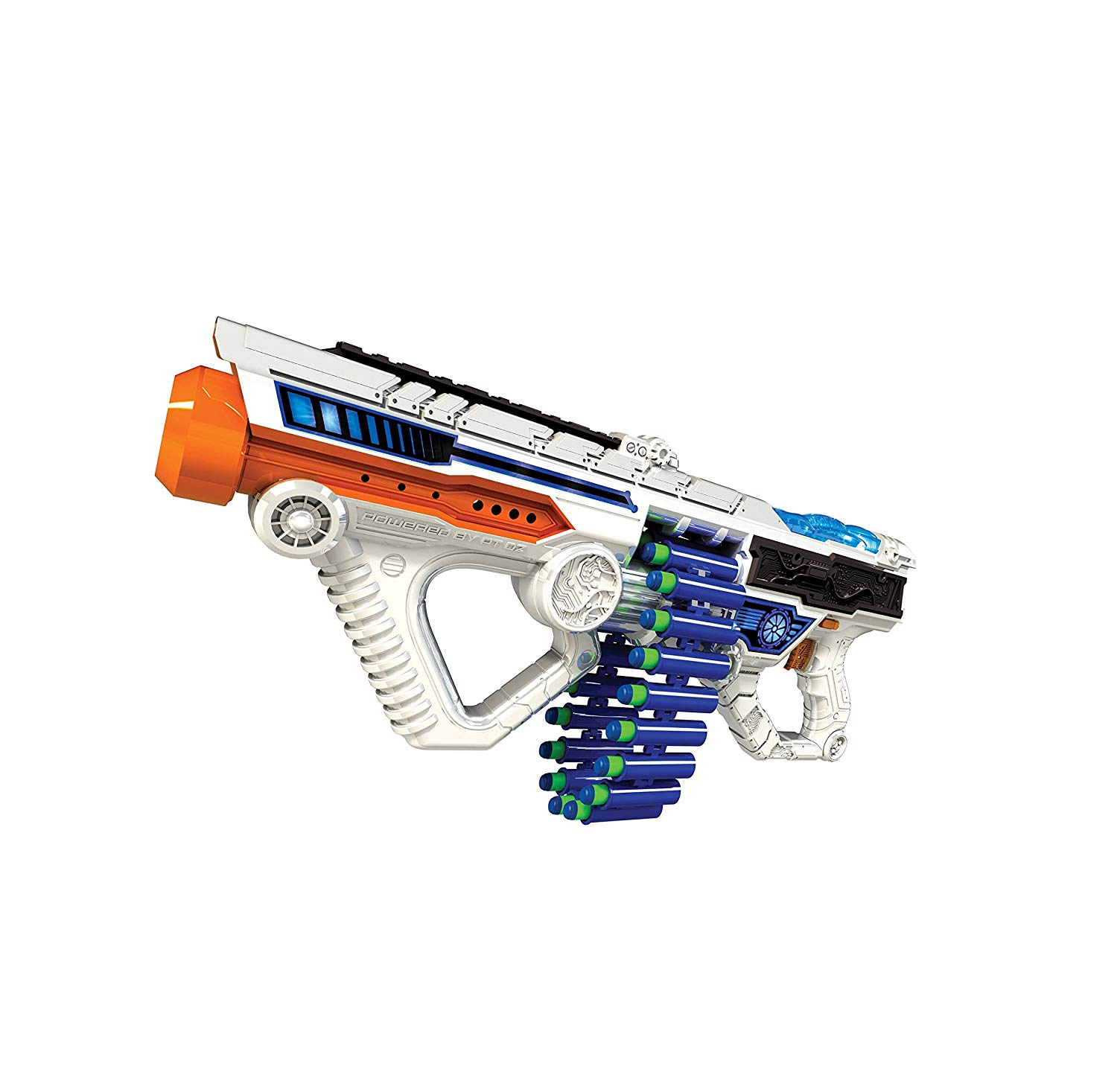 6868 LightWalmartmand Light-up Motorized Blaster, Brand New in box. The product ships with all relevant accessories By Adventure Force