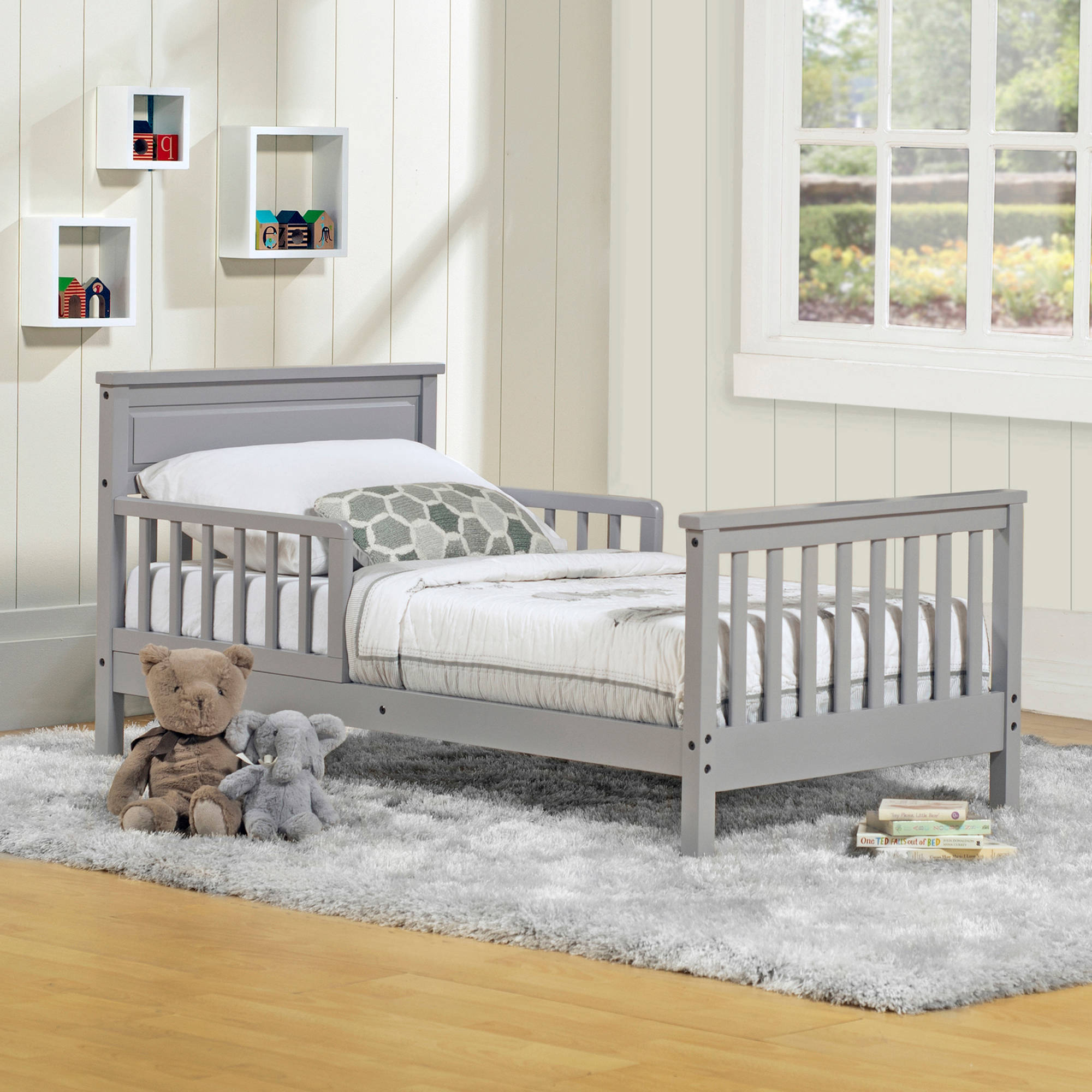 Baby Relax Haven Toddler Bed Gray