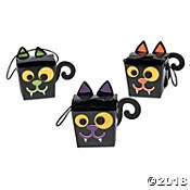 Halloween Treat Box Craft Kit(pack of 1) - Easy Halloween Crafts And Treats