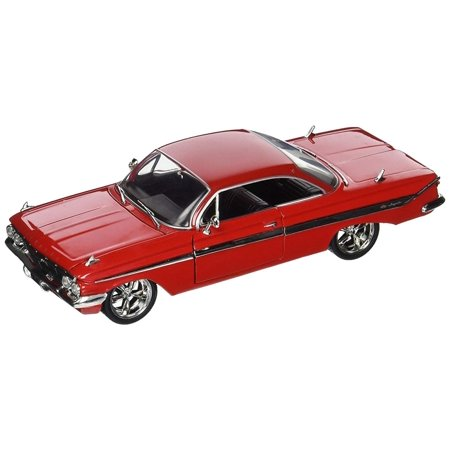 Fast & Furious 8 1:24 Diecast - Dom's Chevy Impala Vehicle, Officially licensed and authentic movie decoration with themed packaging By JADA (1967 Chevy Impala Station Wagon For Sale)