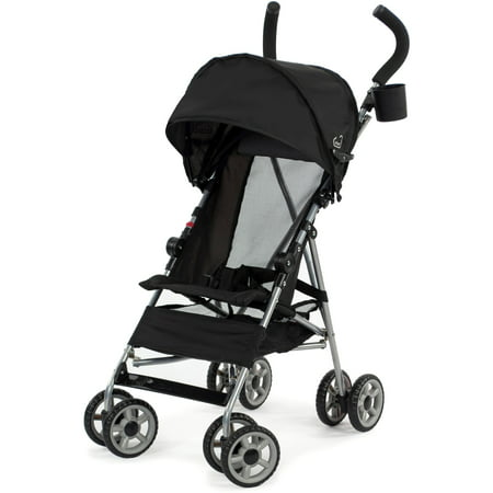 Kolcraft Cloud Umbrella Stroller, Black (Best Stroller For Older Kids)