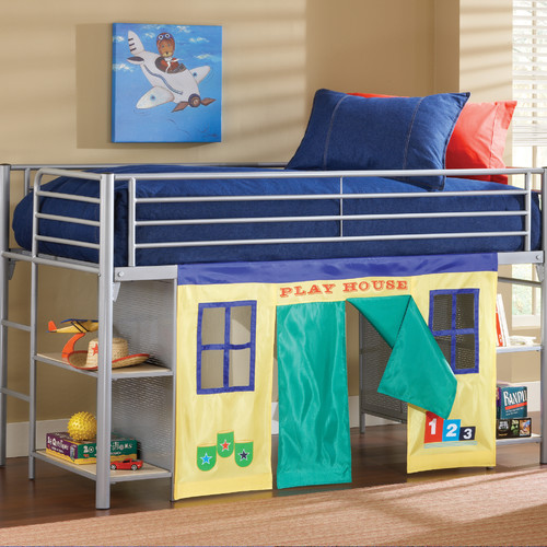 Hillsdale Furniture Universal Youth Twin Low Loft Bed