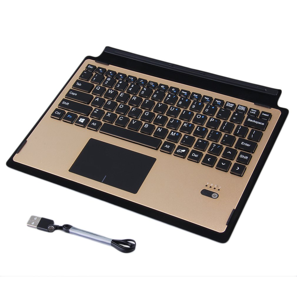 Ultra-Thin Aluminum Alloy Touch Wireless Bluetooth Keyboard For Surface 3