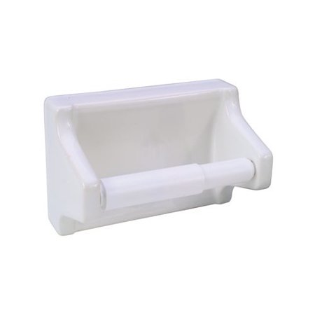 proplus wall mounted grout in ceramic toilet tissue holder. Black Bedroom Furniture Sets. Home Design Ideas