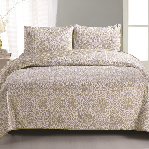 Home Fashion Designs Sibylia Quilt Set