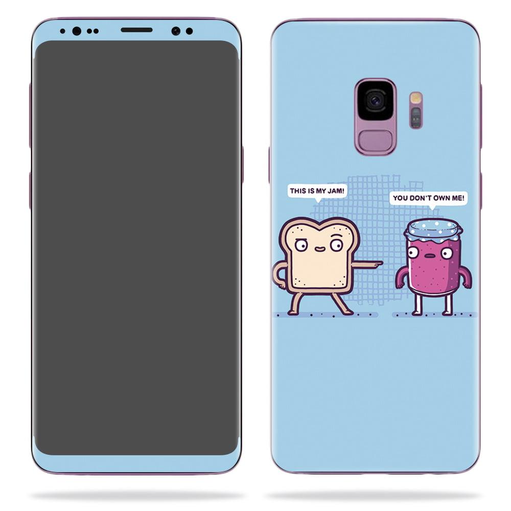 Samsung galaxy s9 mit aufkleber typenschild