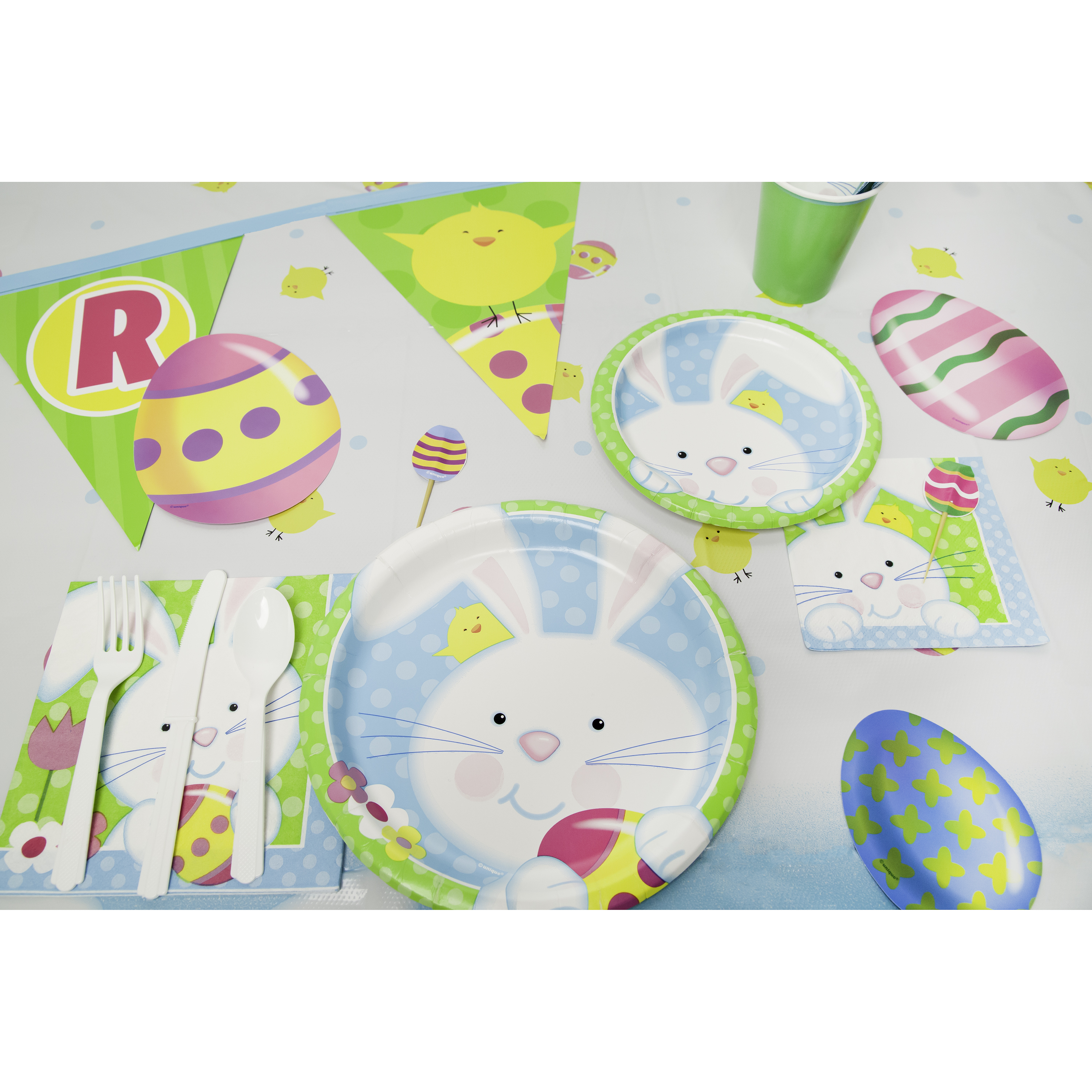 Spring Easter Bunny Party Supplies
