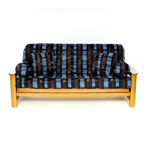 Lifestyle Covers Royal Thunder Box Cushion Futon Slipcover