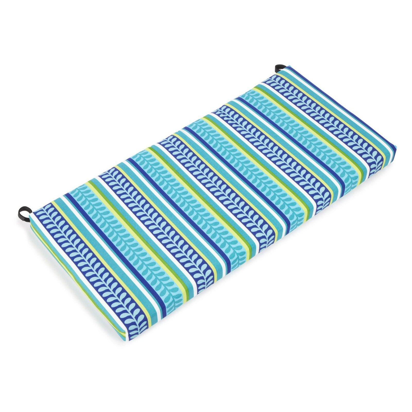 Blazing Needles Wrought Iron Conversation Set Patio Cushions - 3 pc. Set