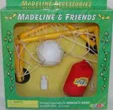 """Madeline 8"""" Poseable doll SOCCER Accessories by, For use with 8 inch Madeline dolls (sold separately) By... by"""