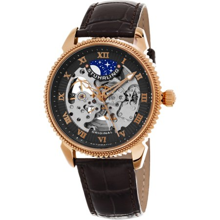 - Stuhrling Original  Men's Automatic Special Reserve Leather Strap Watch