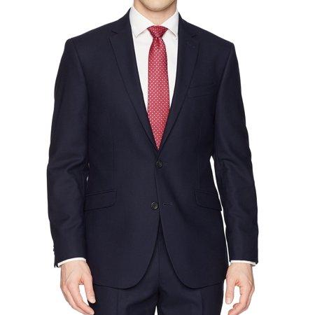 Kenneth Cole Two Button Blazer (Mens Two Button Notch Collar Blazer 40)