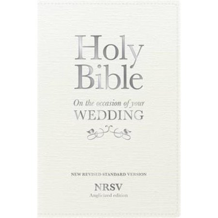 Holy Bible New Standard Revised Version  On The Occasion Of Your Wedding  Nrsv Anglicized Edition  Hardcover