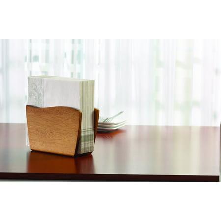 Kamenstein Acacia Wood Vertical Paper Napkin Holder