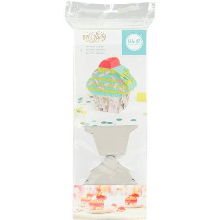 DIY Party Mini Cupcake Pinatas, 4in x 4.75in, 3ct](Mini Pinatas)