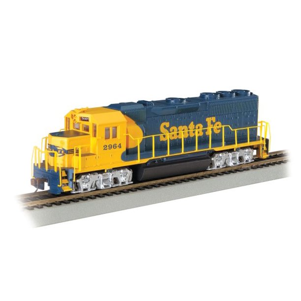 Santa Fe Gp40 Diesel Locomotive Ho Scale Train Engine Walmart Com Walmart Com