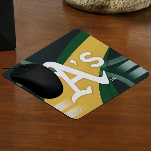 Oakland Athletics Sublimated Carbon Fiber Mousepad - No Size
