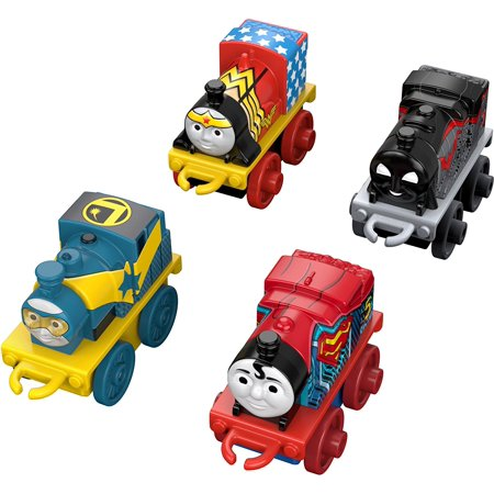 Fisher-Price Thomas & Friends DC Super Friends, 4 Pack (#3), Completely reimagine the island of Sodor with never-before-seen themes! By